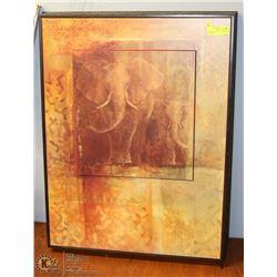 SAFARI ELEPHANTS ART IN MOTION BY FABRICE