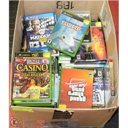 EXTRA LARGE LOT OF ASSORTED VIDEO GAMES INCL.