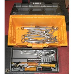 LARGE PLANO TOOL BOX FULL OF TOOLS.