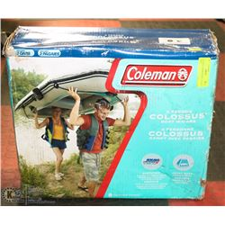 COLEMAN 3 PERSON BOAT ( NEVER USED )