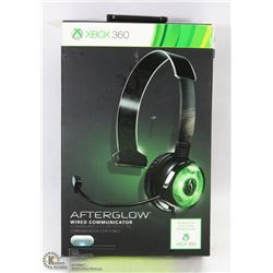 AFTERGLOW GLOWING XBOX CHAT HEADSET