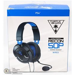 TURTLE BEACH RECON GAMING HEADSET FOR PS4