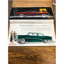 1955 BUICK BROCHURE 32 PAGES, DAMAGE ON BACK PAGE