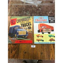 1949 & 1950 CHEVROLET TRUCK BROCHURES,