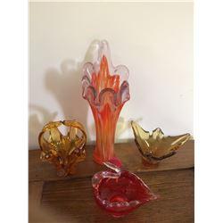 4 ART GLASS