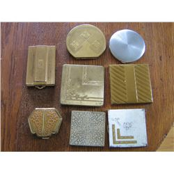 COLLECTION OF LADIES COMPACTS