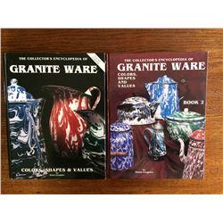 2 BOOKS ON ENAMEL WARE