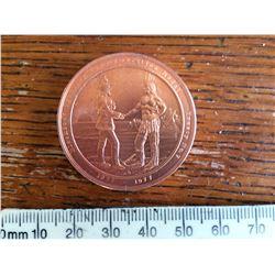 TREATY SEVEN COMMEMORATIVE COIN