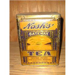 NASHS TEA TIN