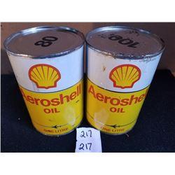 2 AEROSHELL OIL LITRES - FULL