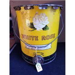 WHITE ROSE 25 LB. PAIL W/GREASE GUN FILL OPENING