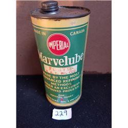 MARVELUBE IMPERIAL RED DOT 1 QUART TIN