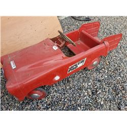 1950s SPEEDPRO STATION WAGON PEDAL CAR