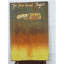 QUICK ON/OFF HEAT SIGN 30X46