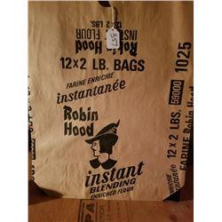 5 ROBIN HOOD FLOUR BAGS