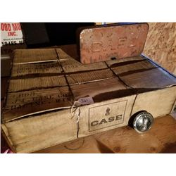 CASE SHIPPING CRATE, TOOL BOX, STEERING WHEEL INSERT
