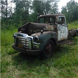 1949, 50, 51? CHEV 2 TON, 5 WINDOW CAB & CHASSIS