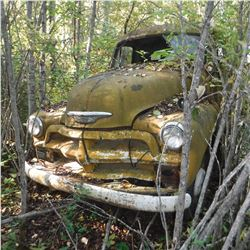 1949, 50, 51 CHEV ¾TON PANEL TRUCK, MOSTLY COMPLETE