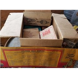 NEW/OLD STOCK AUTOMOTIVE PARTS - CHRYCO, MM, IH & WILSON