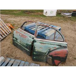 4 - 1949 PONTIAC CAR DOORS
