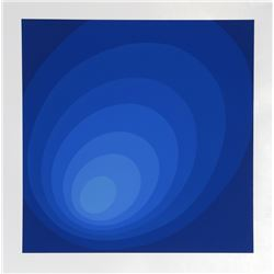 Leonid, Blue Ombre, Silkscreen