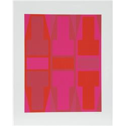 Arthur Boden, T Series (Red), Serigraph