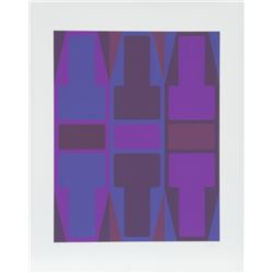 Arthur Boden, T Series (Purple), Serigraph
