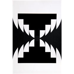 Imre Kocsis, Komposition I, Serigraph