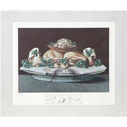Salvador Dali, Les suprenes de maillaise liliputiens, Lithograph and engraving