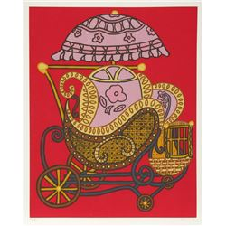 William Copley, Baby Buggy, Serigraph