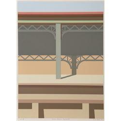 Saul Chase, Harlem Divison Line, Serigraph