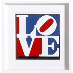 Robert Indiana, The American Love, Enamel on Aluminum