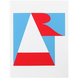 Robert Indiana, Art from the American Dream Portfolio, Serigraph