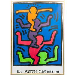 Keith Haring, People Tree, Lithograph with Estate Seal