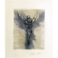 Marc Davis, Peter Pan - Tinker Bell, Aquatint Etching