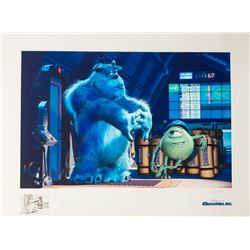 Disney Studios, Pixar Monsters, Inc. - Sully and Mike, Lithograph