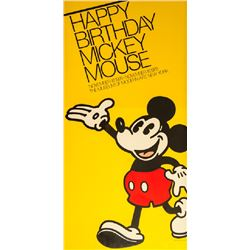 Disney Studios, Happy Birthday Mickey Mouse at MoMA, Poster