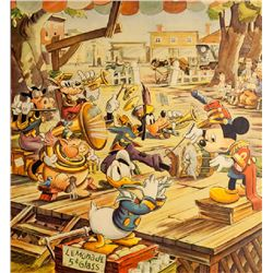 Disney Studios, Mickey's Bandstand, Poster