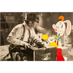Disney Studios, Roger and Eddie Handcuffed - Who Framed Roger Rabbit, Production Cel