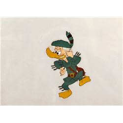 Disney Studios, Duck in Coonskin Cap, Production Cel