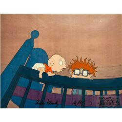 Arlan Klasky, Rugrats in Crib, Production Cel