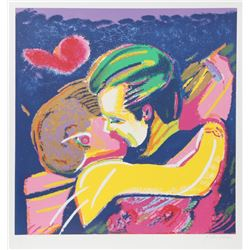Rubens Gerchman, The Kiss, Silkscreen