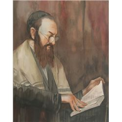 Butterfield, Portrait of a Rabbi, Lithograph