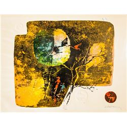 Lebadang, Birds and Tree, Lithograph