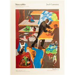 Jacob Lawrence, Memorabilia at Vassar College Exhibition, Poster