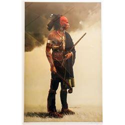 David Wright, Warrior, Lithograph