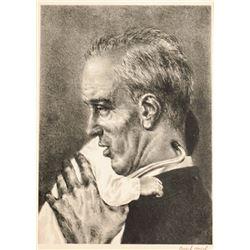 Joseph Hirsch, Doctor, Lithograph