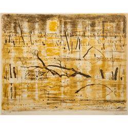 Georges Schreiber, Driftwood, Lithograph