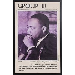 Roland Mitchell, Martin Luther King Jr., Group III, Poster