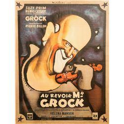 Rene Pean, Au Revoir Mr. Grock, Movie Poster